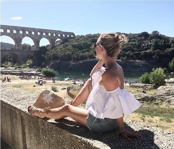Aquädukt Pont du Gard Südfrankreich