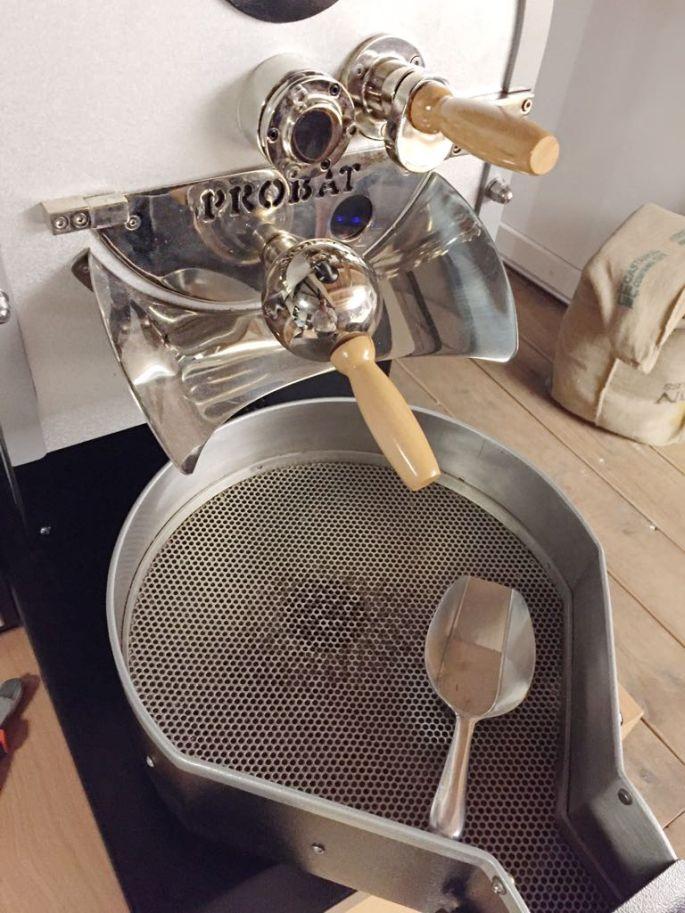 Kaffeemühle der Public Coffee Roasters Hamburg