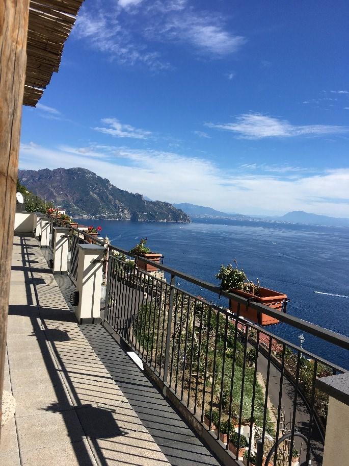 Ausblick vom Hotel Doria Amalfi