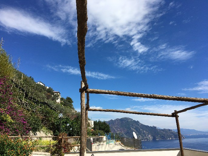 Dachterrasse vom Hotel Doria Amalfi