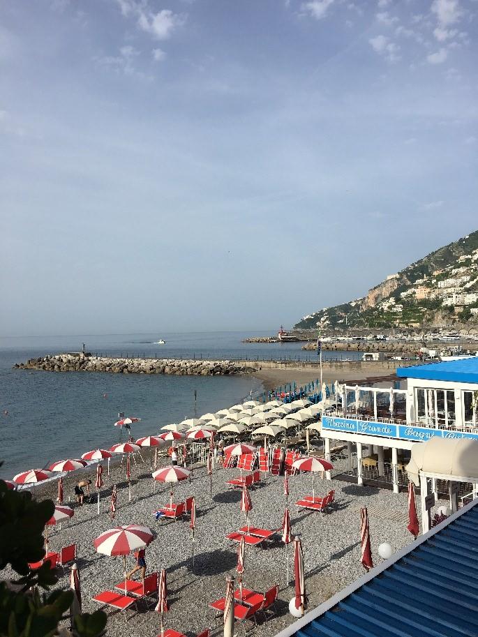 Strand von Amalfi