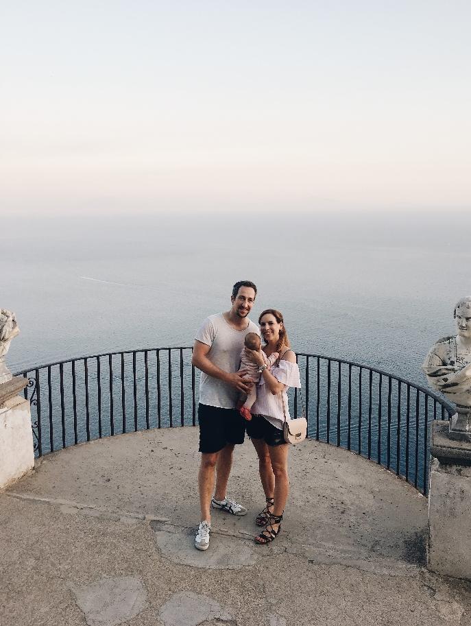 Elternzeit im Ausland Italien Ravello