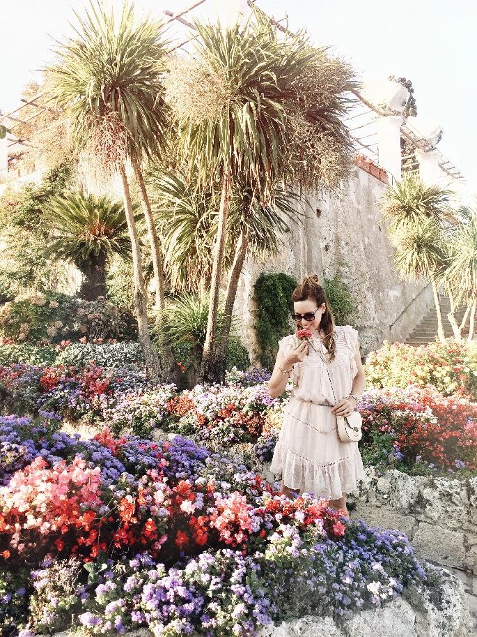 Blumenmeer in der Villa Rufolo in Ravello - Amalfiküste