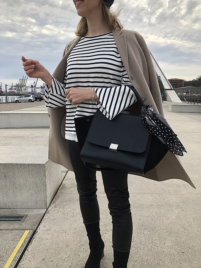 Outfit maritim Streifen perfekt gestylt