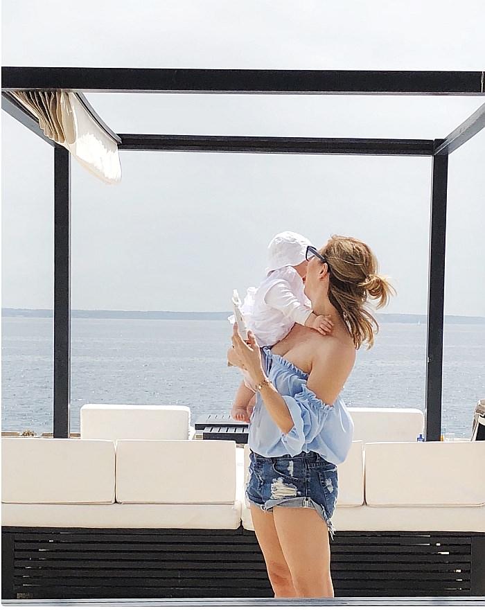 Baby und Beikost im Beachclub Mallorca