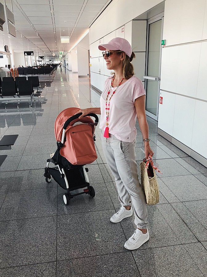 Fliegen mit Baby & Buggy Cecil Outfit
