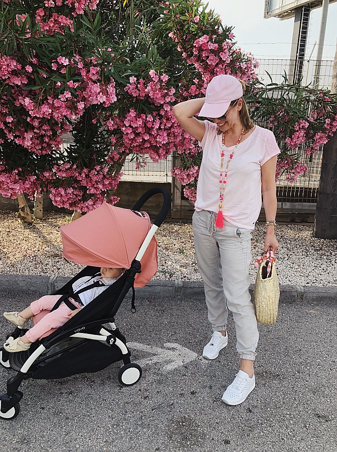 Fliegen mit Baby & Buggy - Ankunft in Sizilien