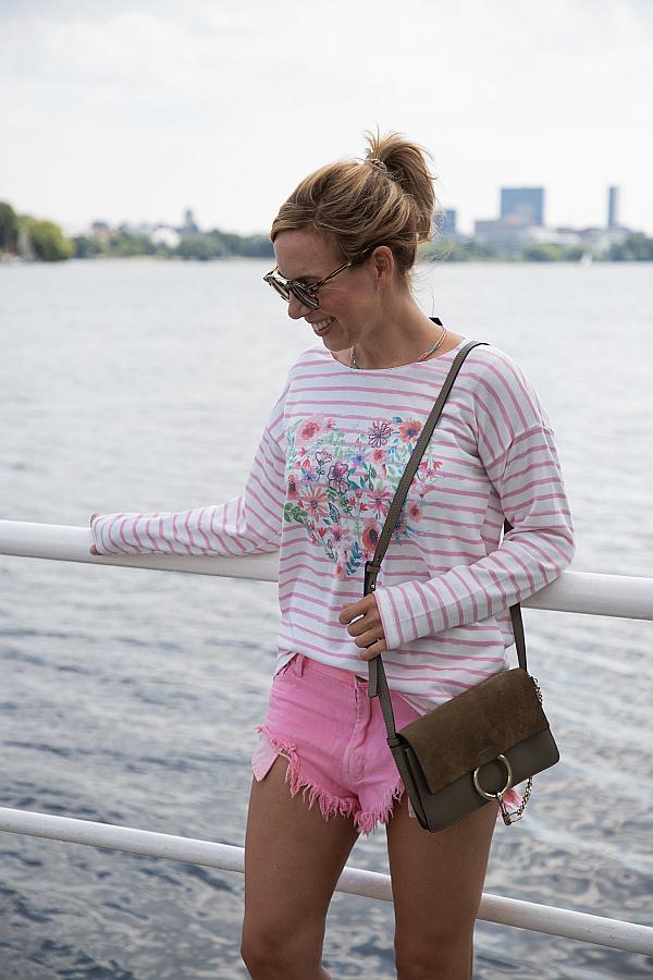 Zwillingsherz Hamburg Blogger Favoriten Streifenpullover Alster