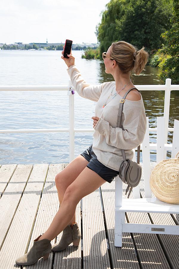 Zwillingsherz Hamburg Blogger Favoriten beigefarbener Pullover