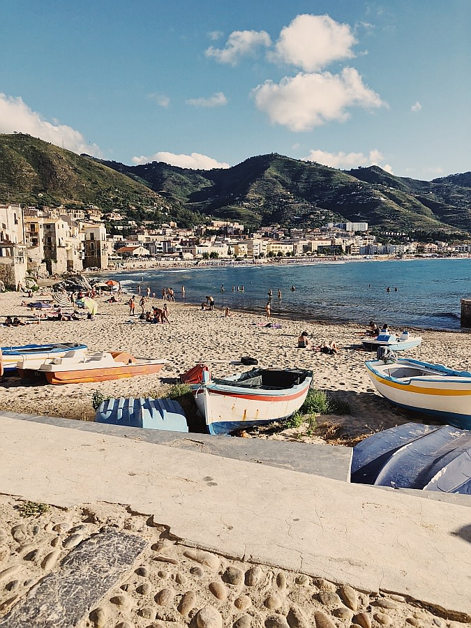 Cefalù Sizilien Italien