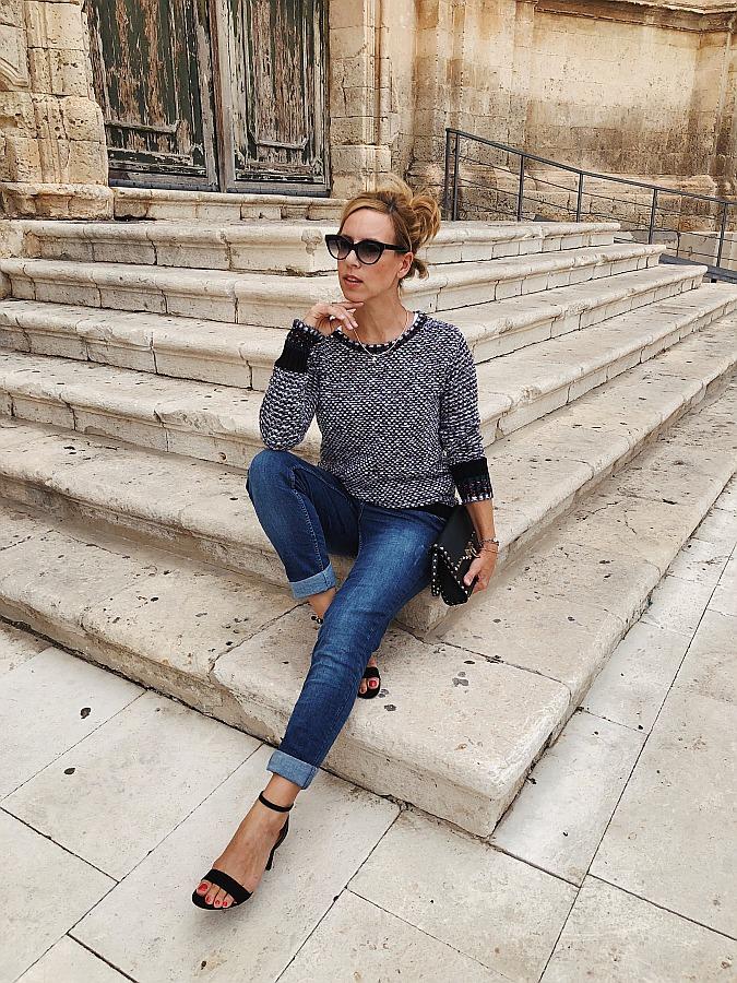 Dark Denim Jeans Guide Cecil Boyfriend Valentino Rockstud Noto