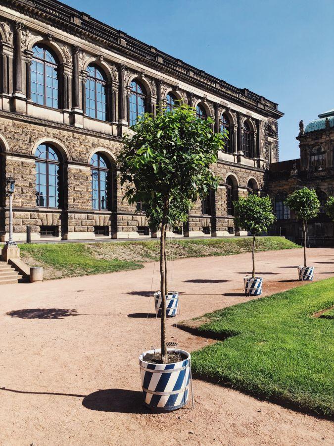 Dresden Tipps Zwinger Gartenanlage