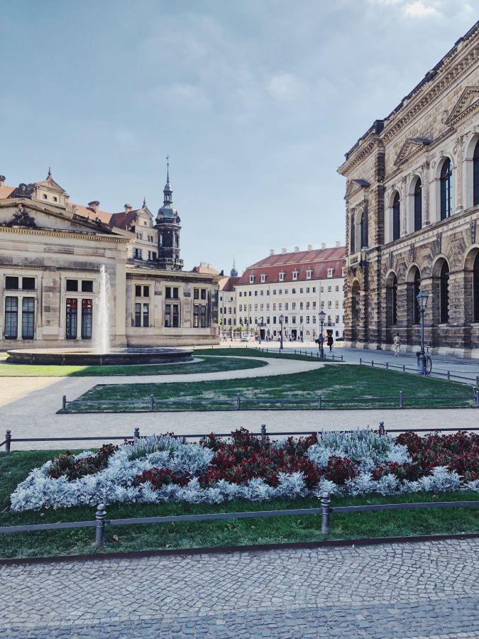 Dresden Tipps Theaterplatz Semperoper