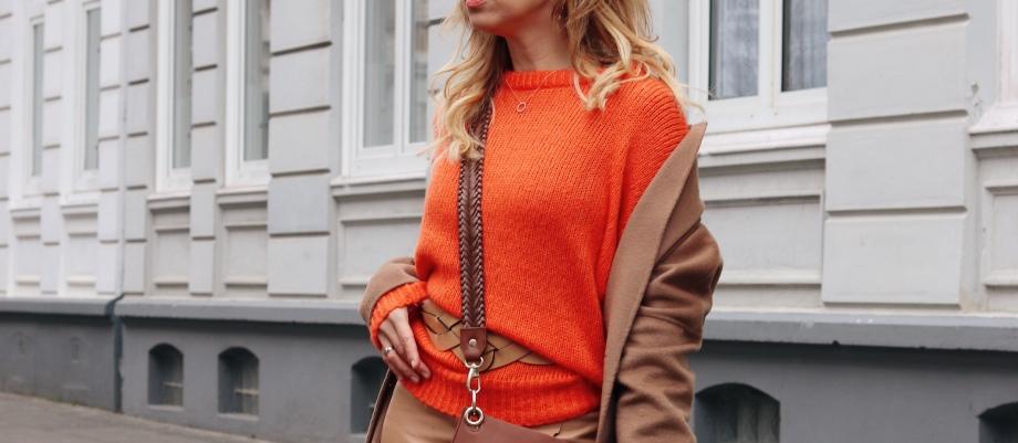 Was Passt Zu Orange? Style-Tipp Zum Kombinieren Der Trendfarbe