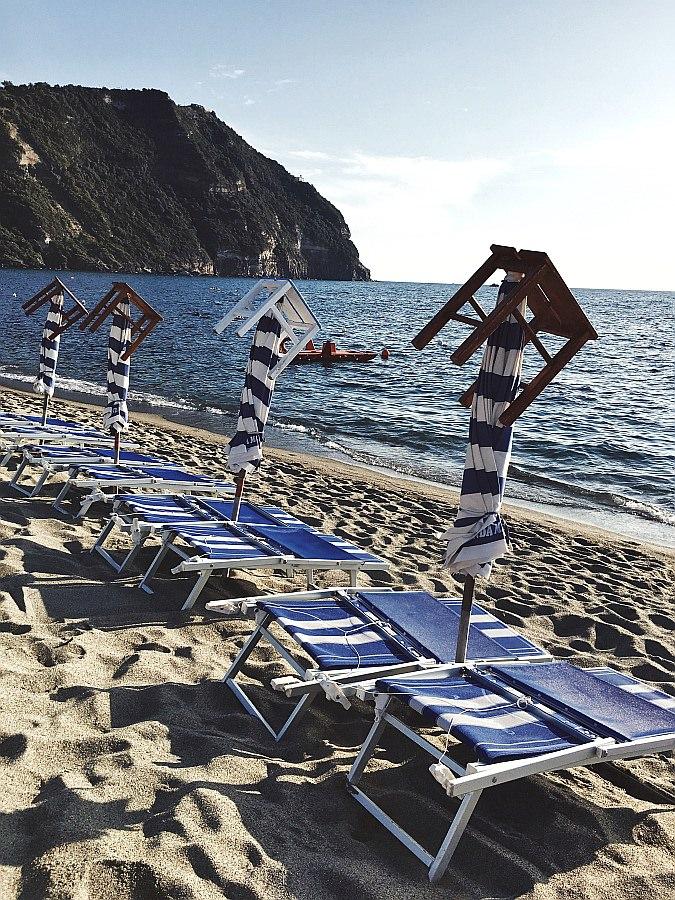 Der Citara Strand gehört zu den Ischia Sehenswürdigkeiten