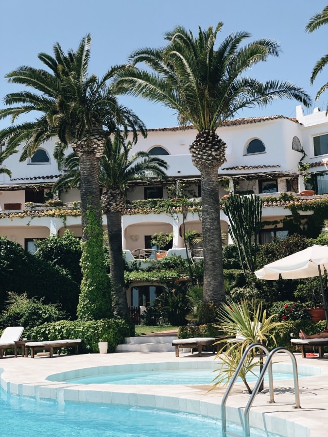 Hotel Balocco Porto Cervo Costa Smeralda Sardinien