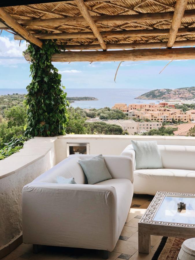 Aussicht vom Hotel Balocco auf Porto Cervo Sardinien
