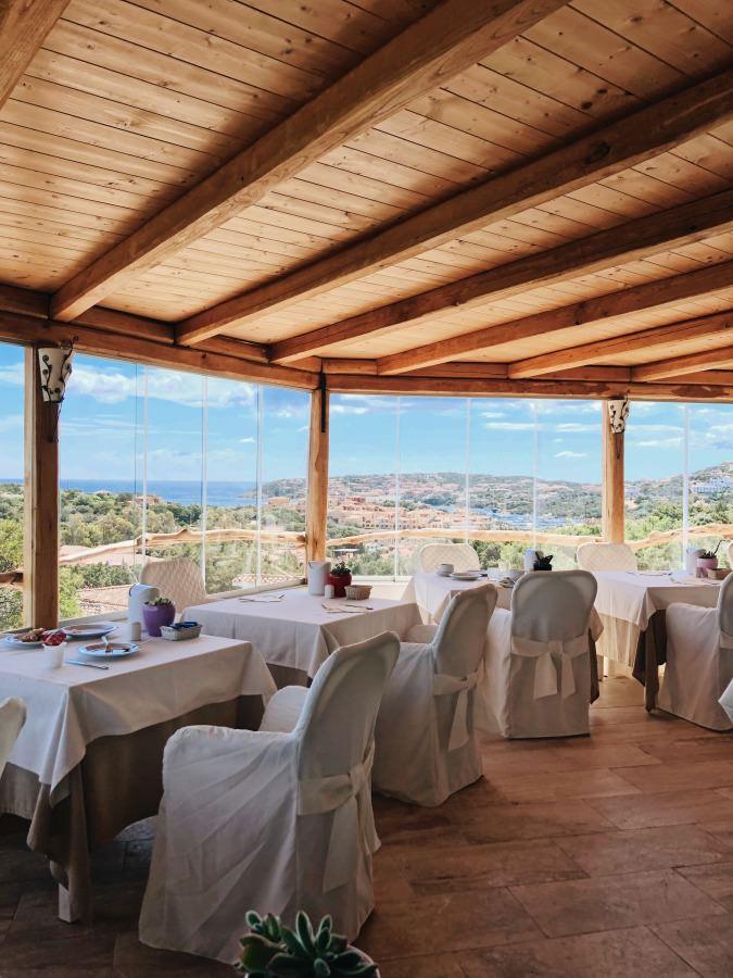 Restaurant mit Aussicht im Hotel Balocco Porto Cervo Costa Smeralda Sardinien