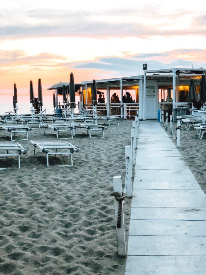 Bagno Teresa Citara Strand auf der Insel Ischia