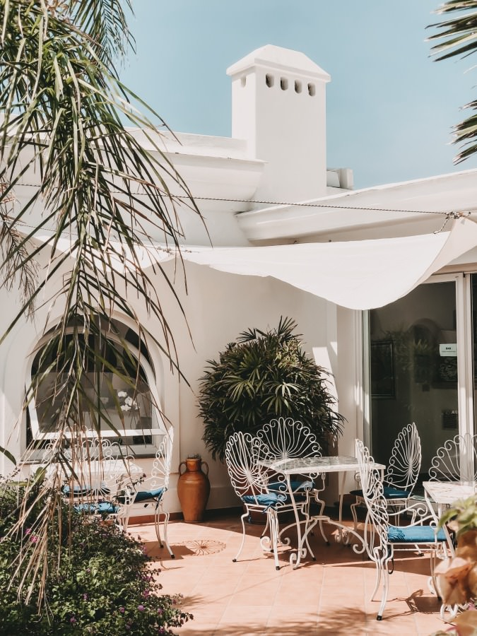 Hotel Semiramis in Forio auf der Insel Ischia