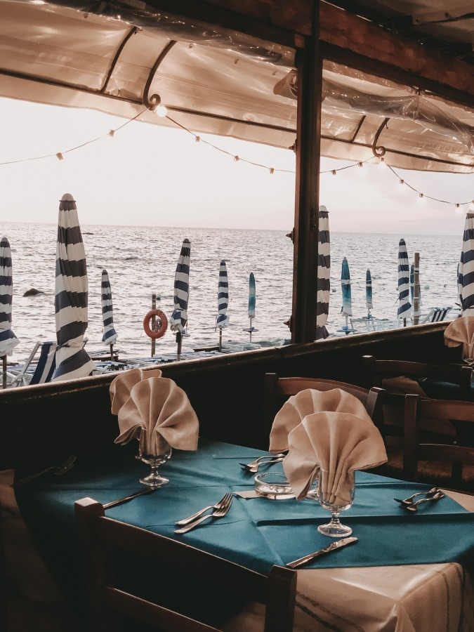 Restaurant Onda Marina auf der Insel Ischia