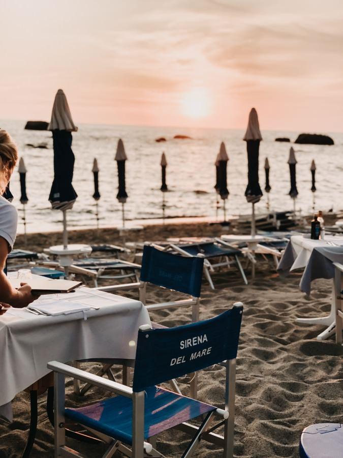 La Sirena del Mare am Citara Strand der Insel Ischia