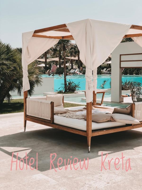 Blick auf den Pool im Avra Imperial Beach Resort & Spa auf Kreta