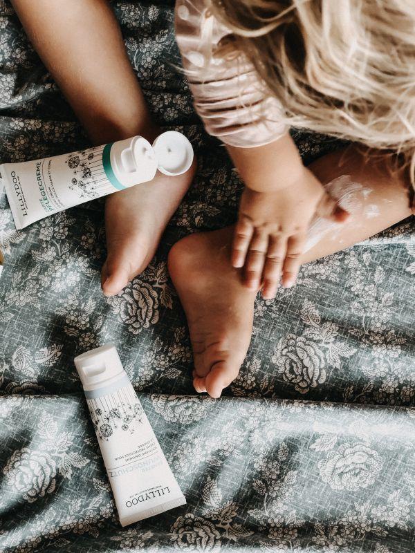 Kleinkind mit LILLYDOO Hautpflege