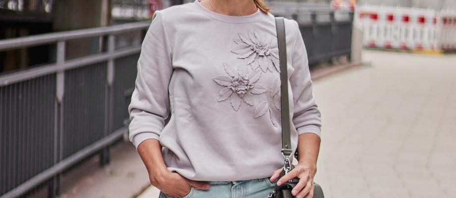 FASHION: WENZ Sweatshirt zweimal anders kombiniert