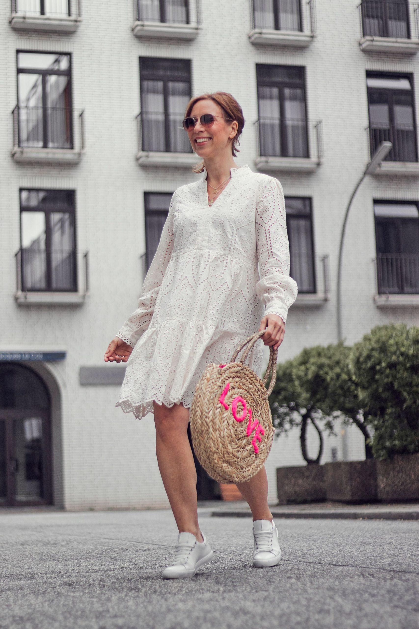 Impressionen Shop Kleid und Tasche