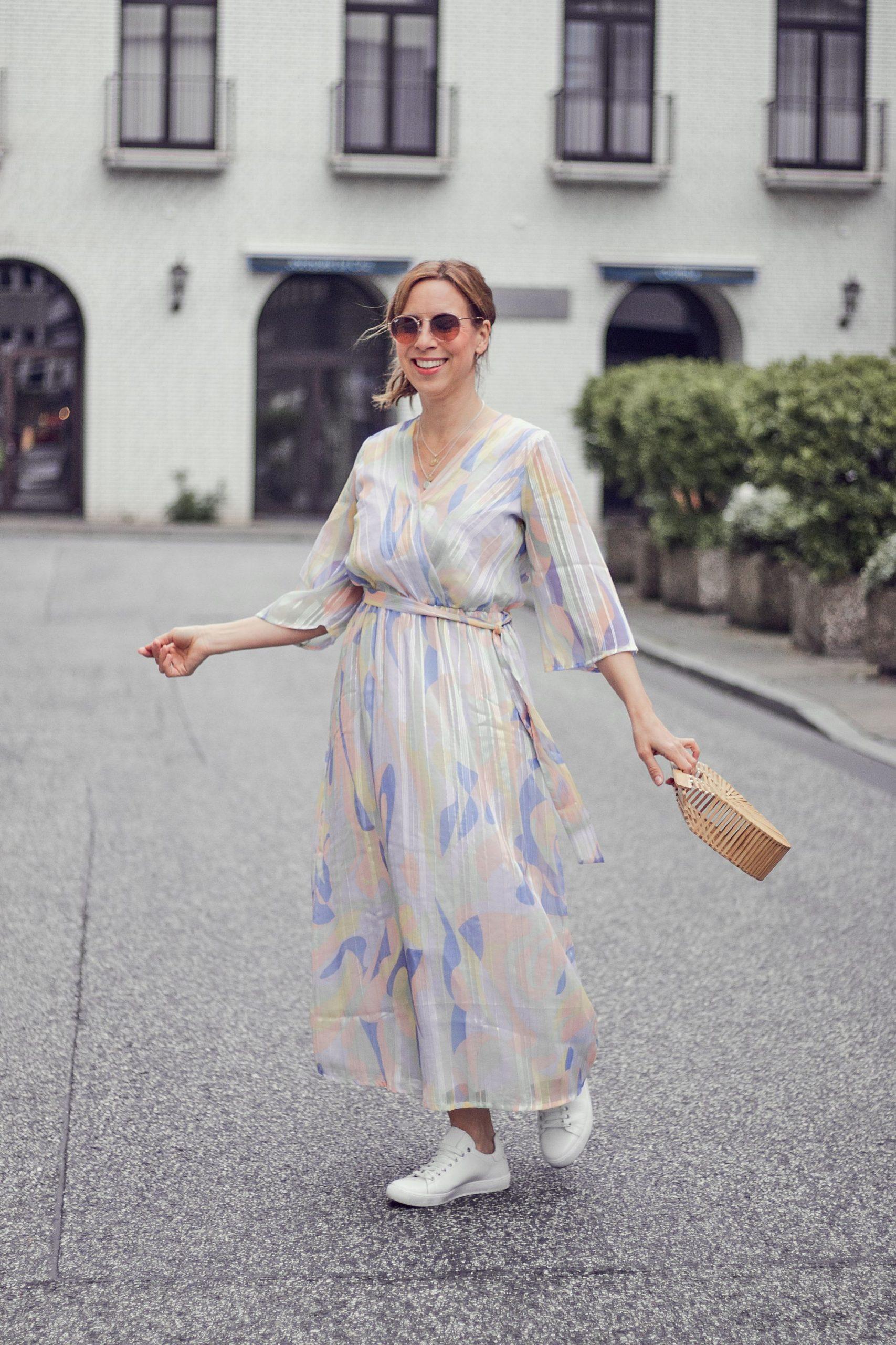 Impressionen Shop Sommerkleid und Tasche
