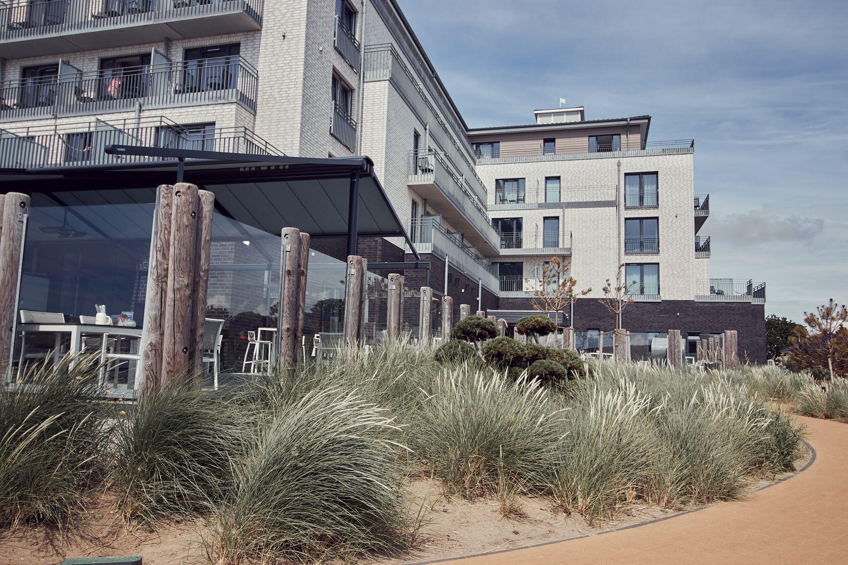Strandhotel Küstenperle beim Büsum Urlaub mit Kindern