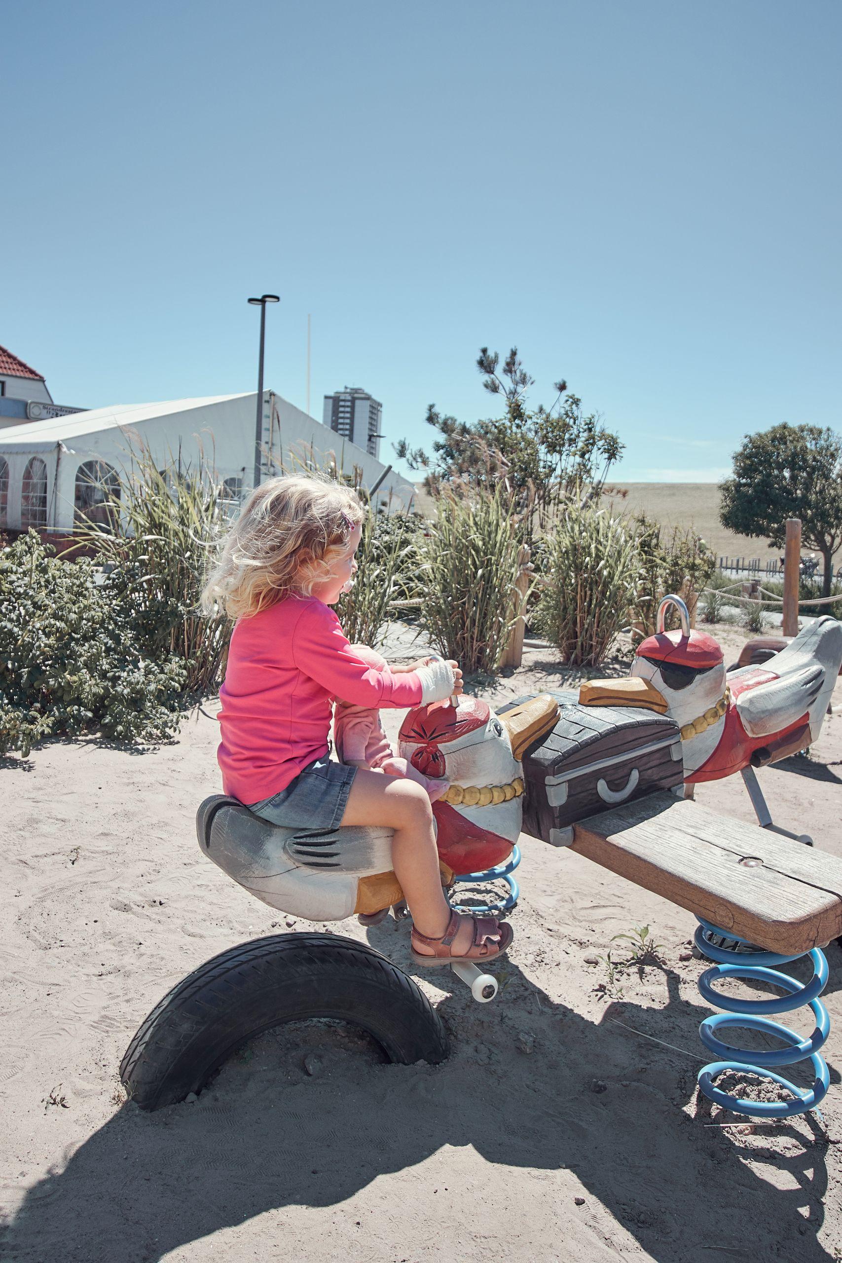 Spielplatz des Strandhotel Küstenperle Büsum