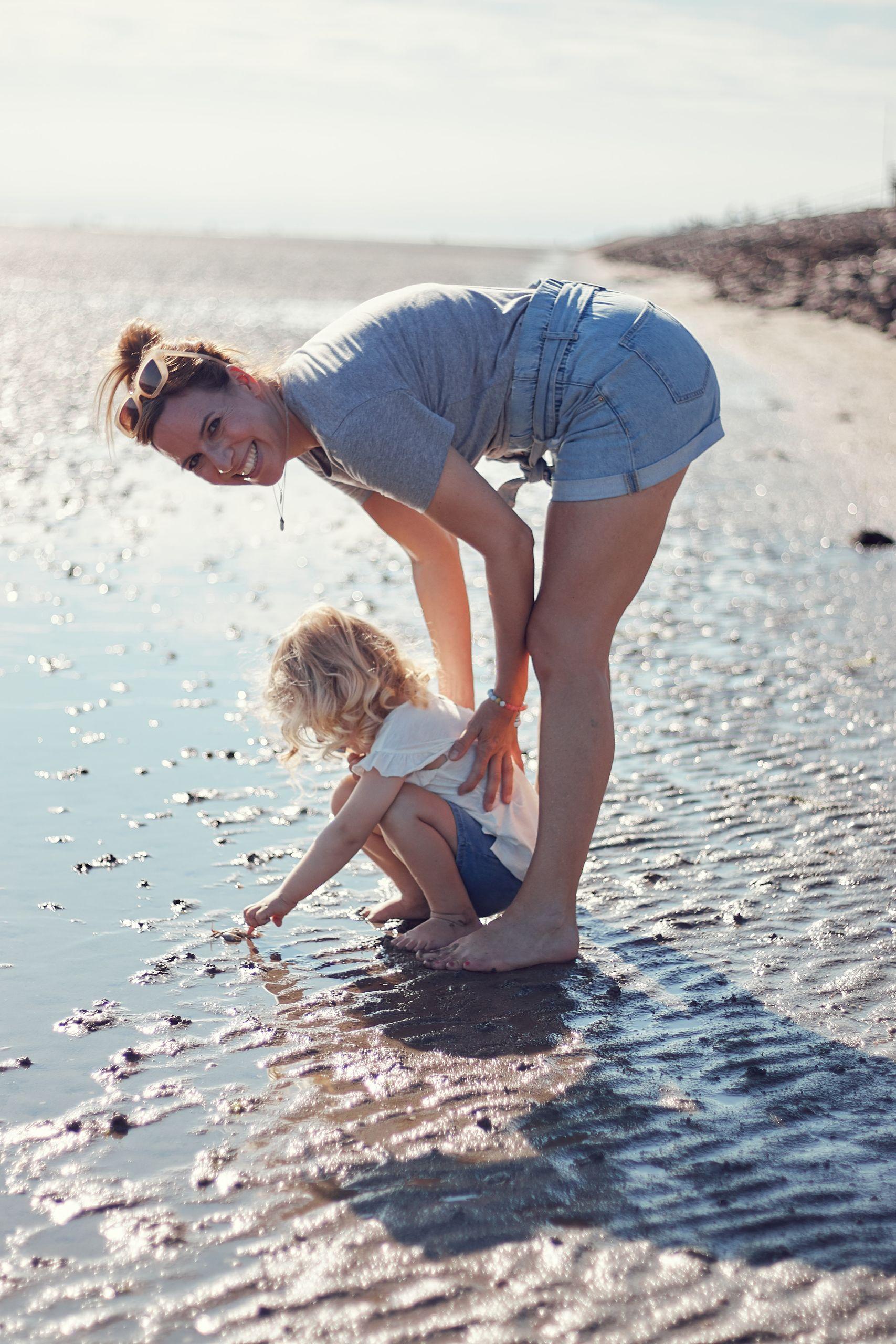 Wattwandern beim Urlaub in Büsum mit Kindern