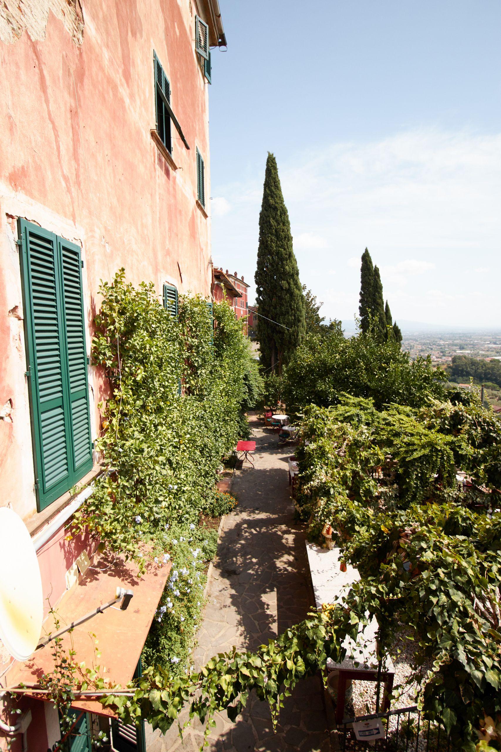Villa Sermolli als Stop vom Toskana Roadtrip