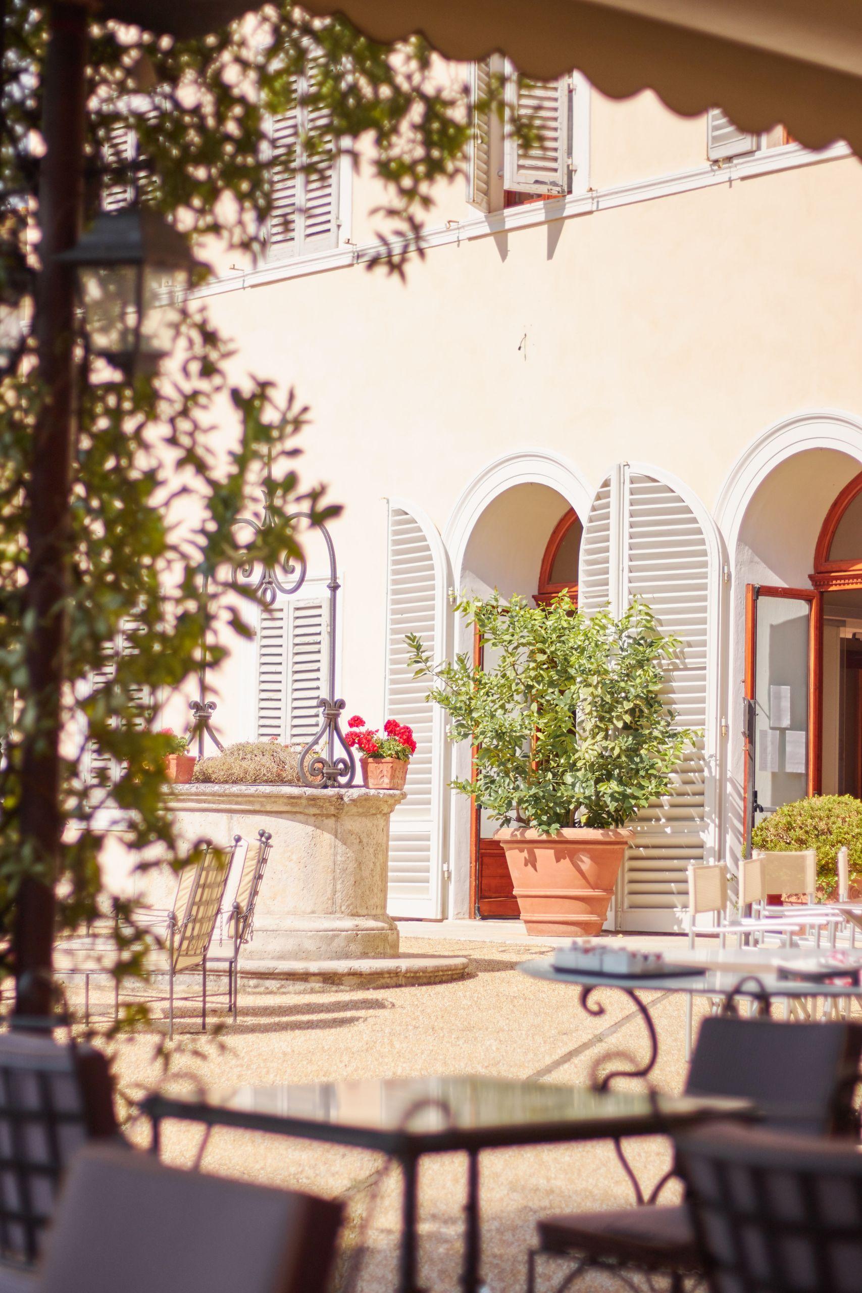 Villa Sabolini in der Nähe von San Gimignano beim Toskana Roadtrip