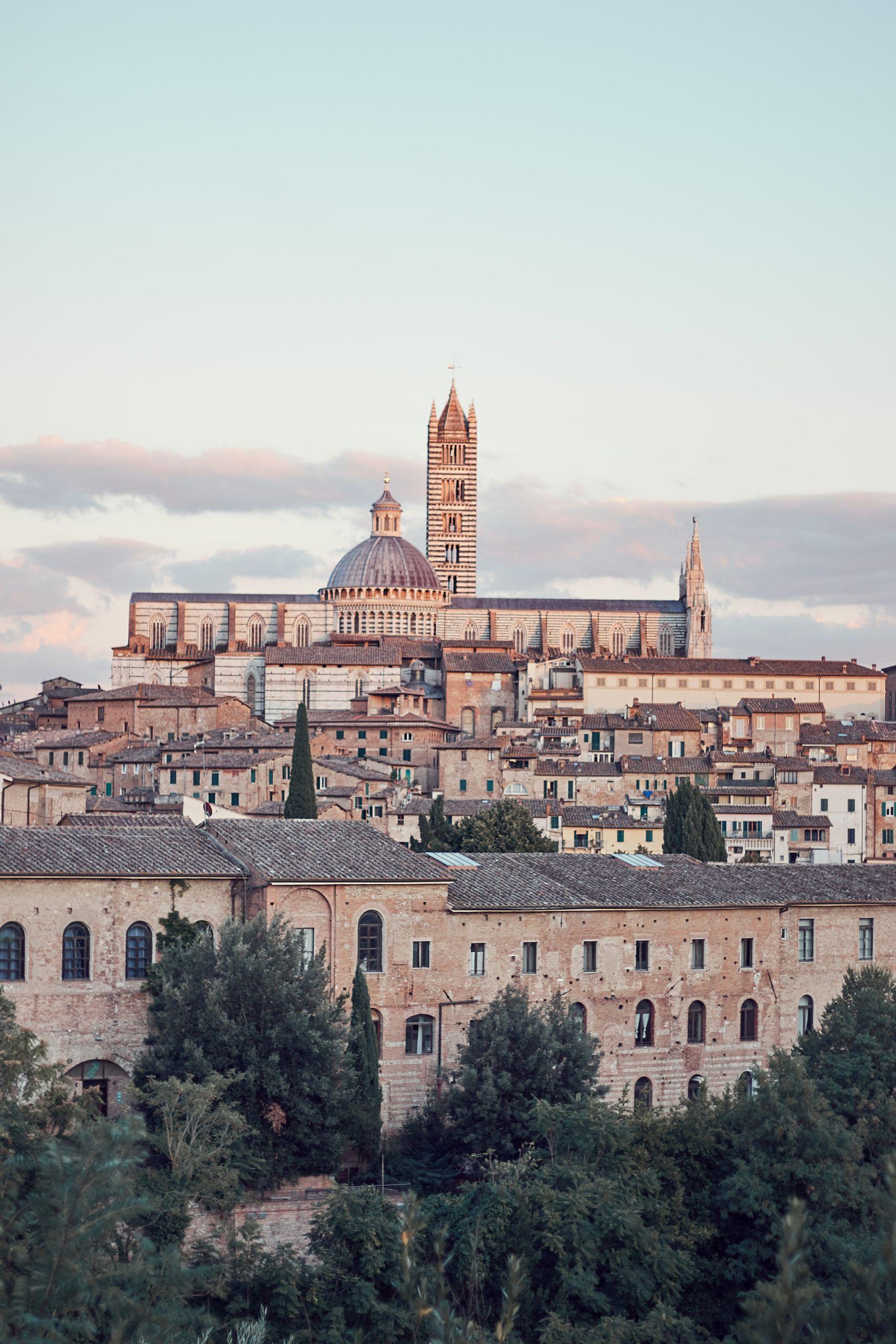 Dom von Siena als Zwischenstopp vom Toskana Roadtrip