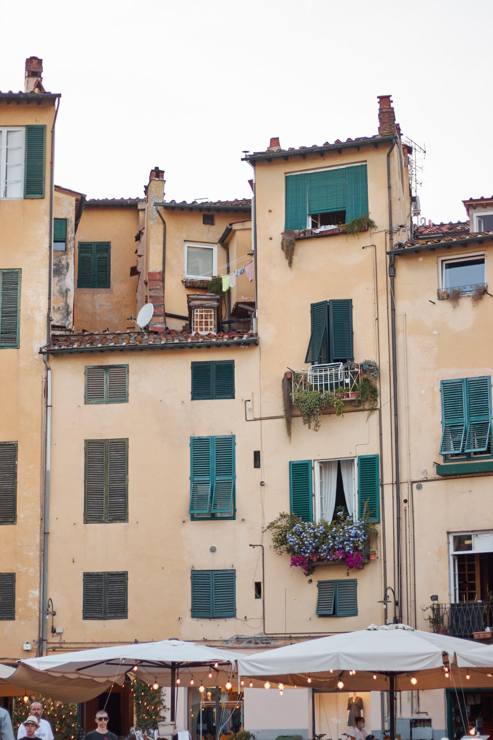 Altstadt von Lucca beim Toskana Roadtrip