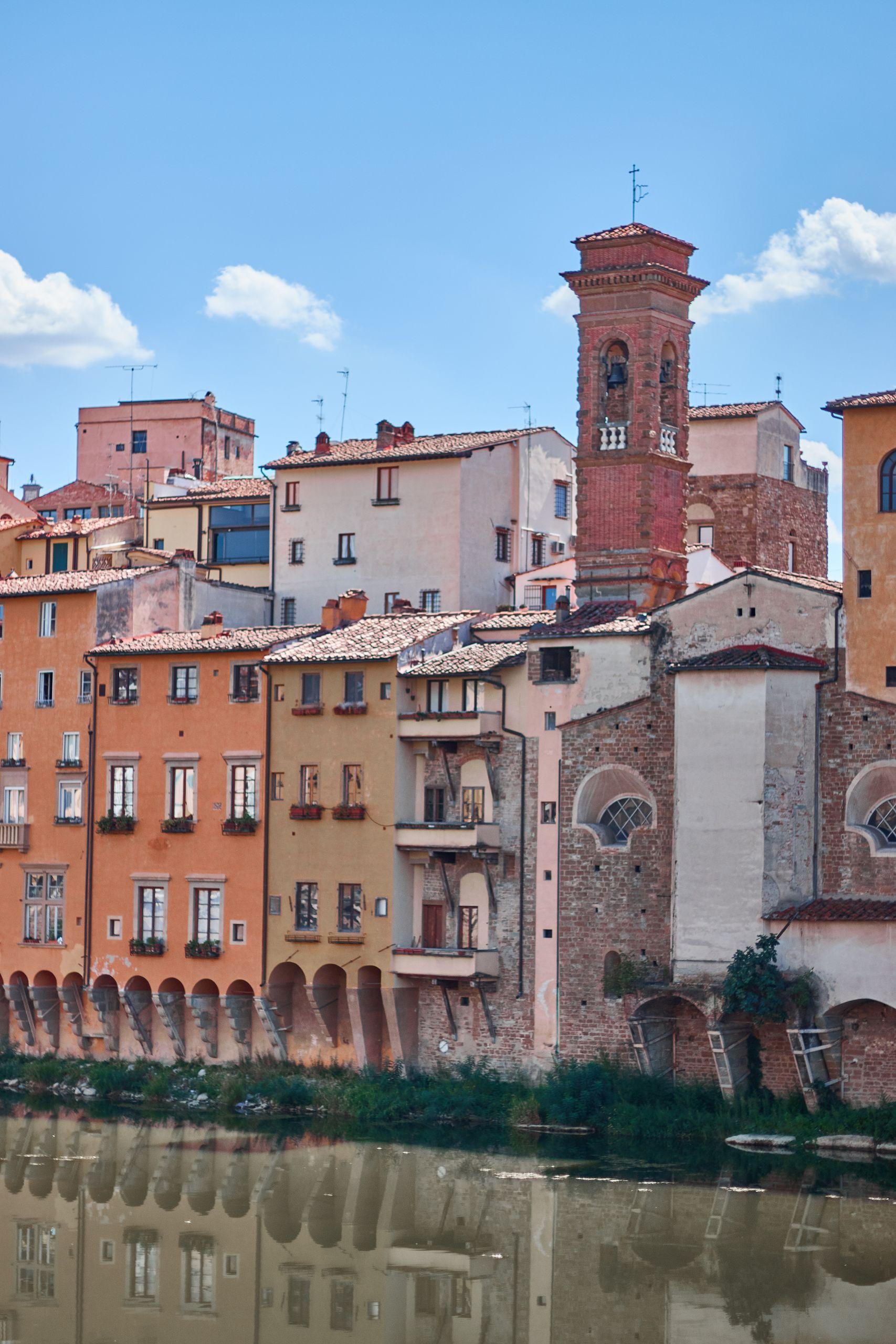 Ponte Vecchio Florenz als Stopp vom Toskana Roadtrip