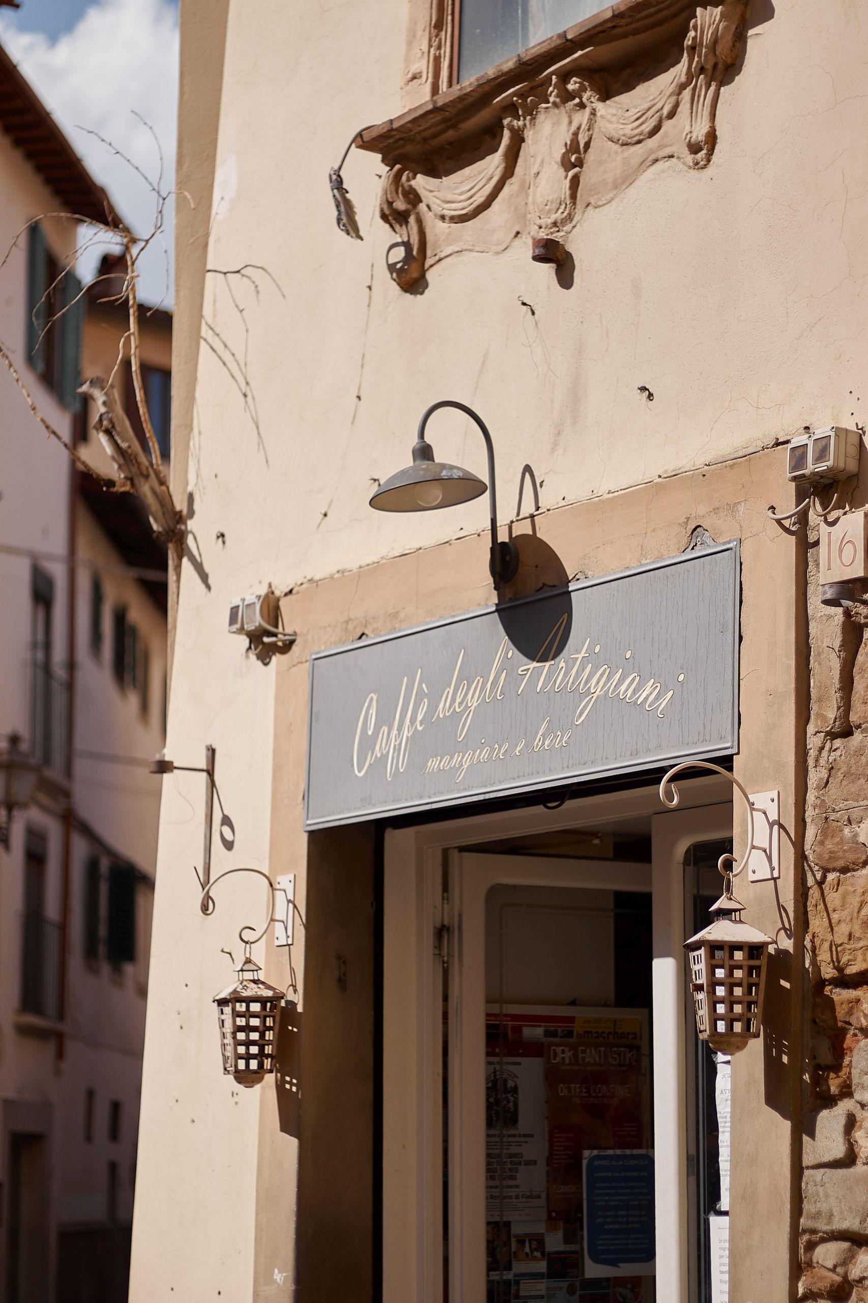 Bar Caffè degli Artigiani Florenz als Stopp vom Toskana Roadtrip