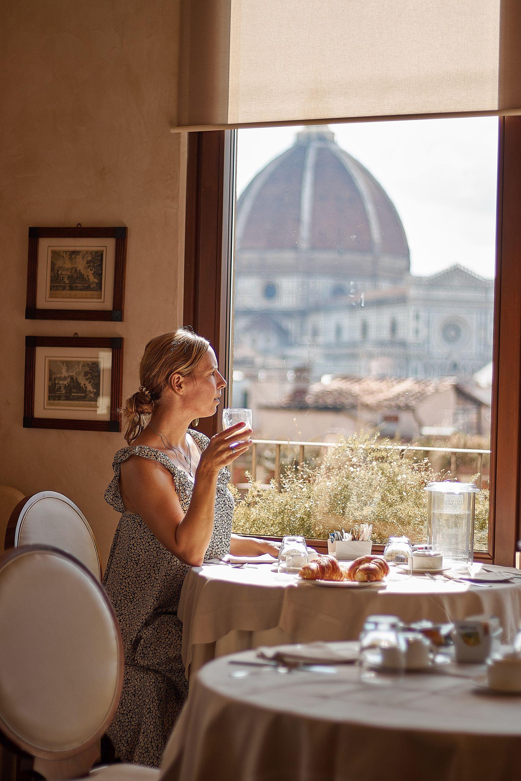 Grand Hotel Baglioni Florenz als Stopp vom Toskana Roadtrip