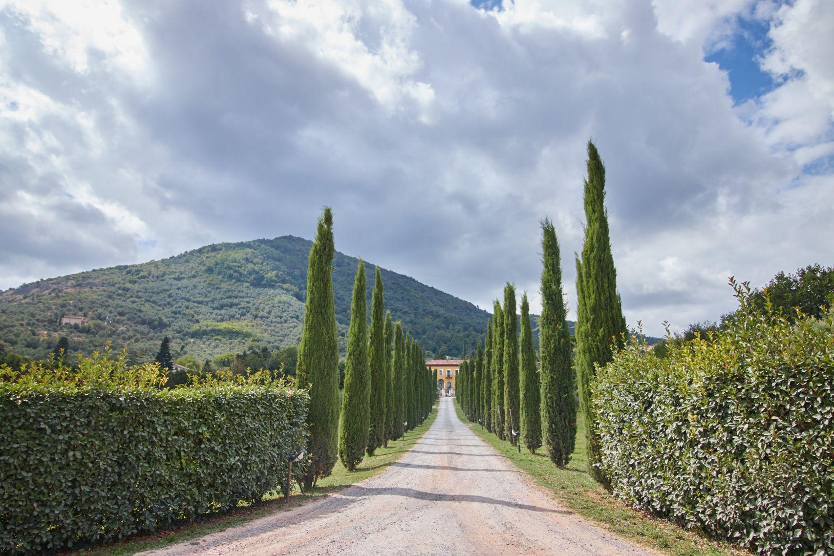Villa Cheli als Stopp vom Toskana Roadtrip