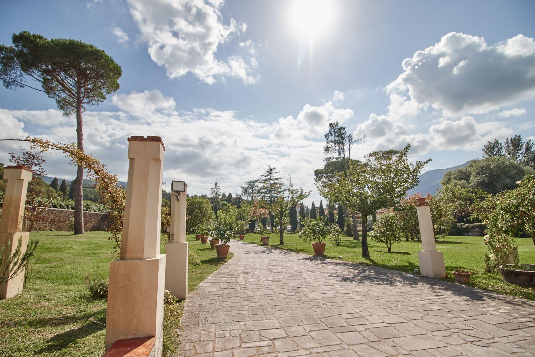 Albergo Villa Marta als Stopp vom Toskana Roadtrip