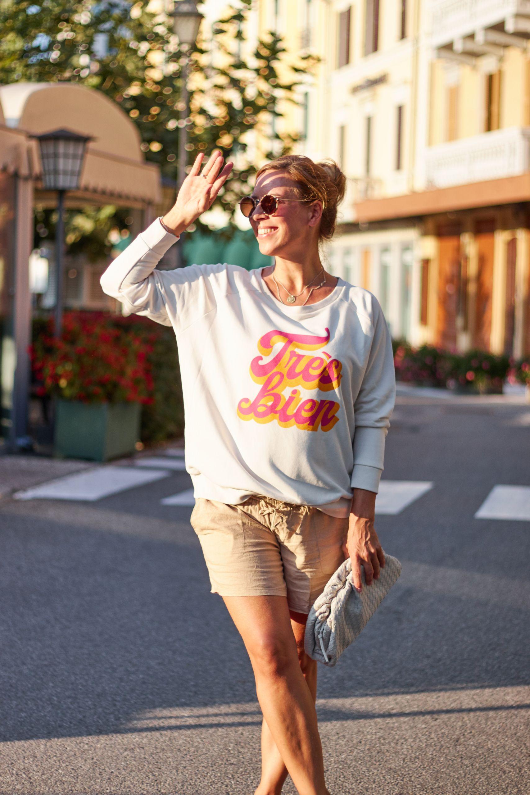 Très bien Sweatshirt von Bonjour Ben in Bellagio