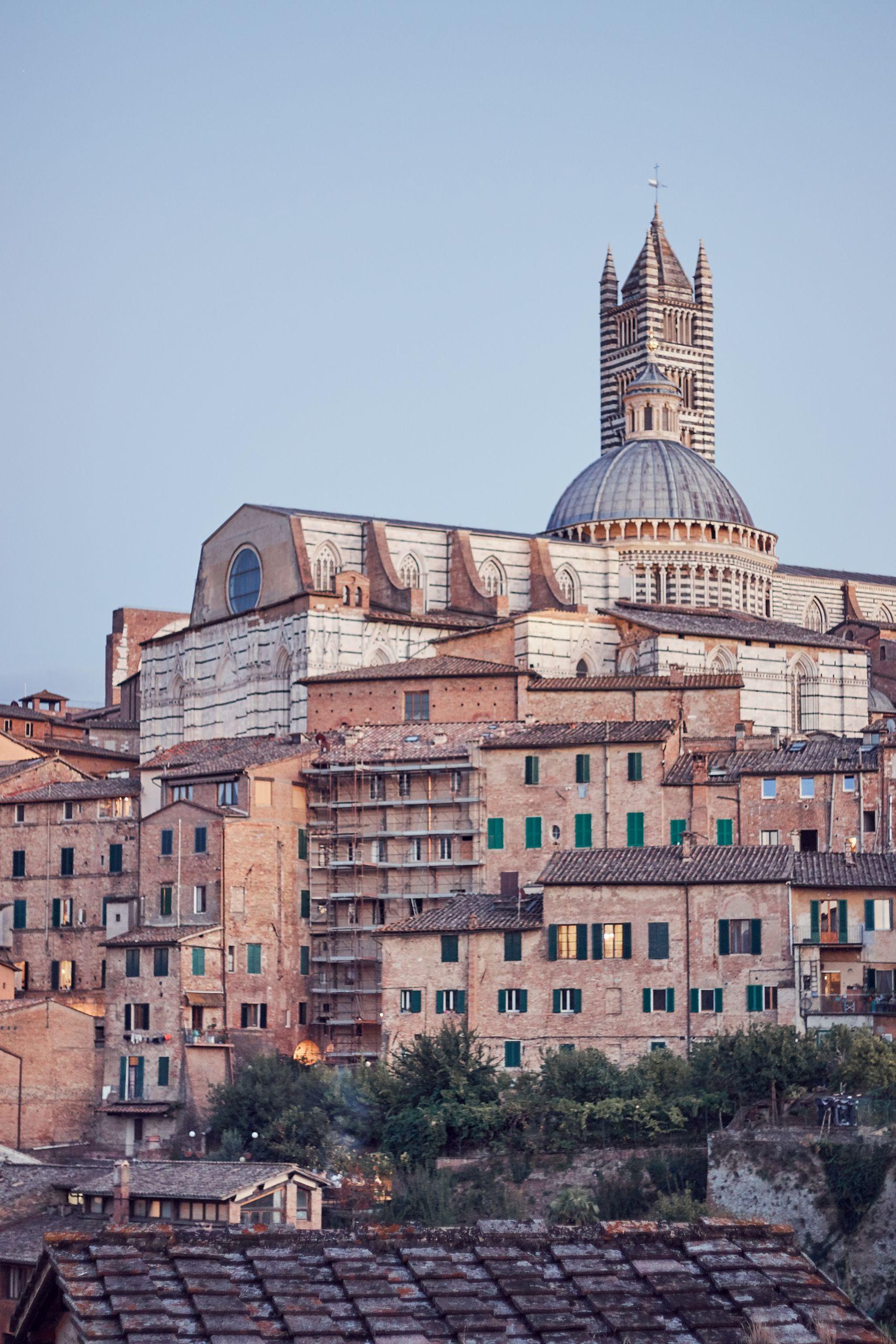 Der Dom von Siena als Zwischenstopp vom Toskana Roadtrip