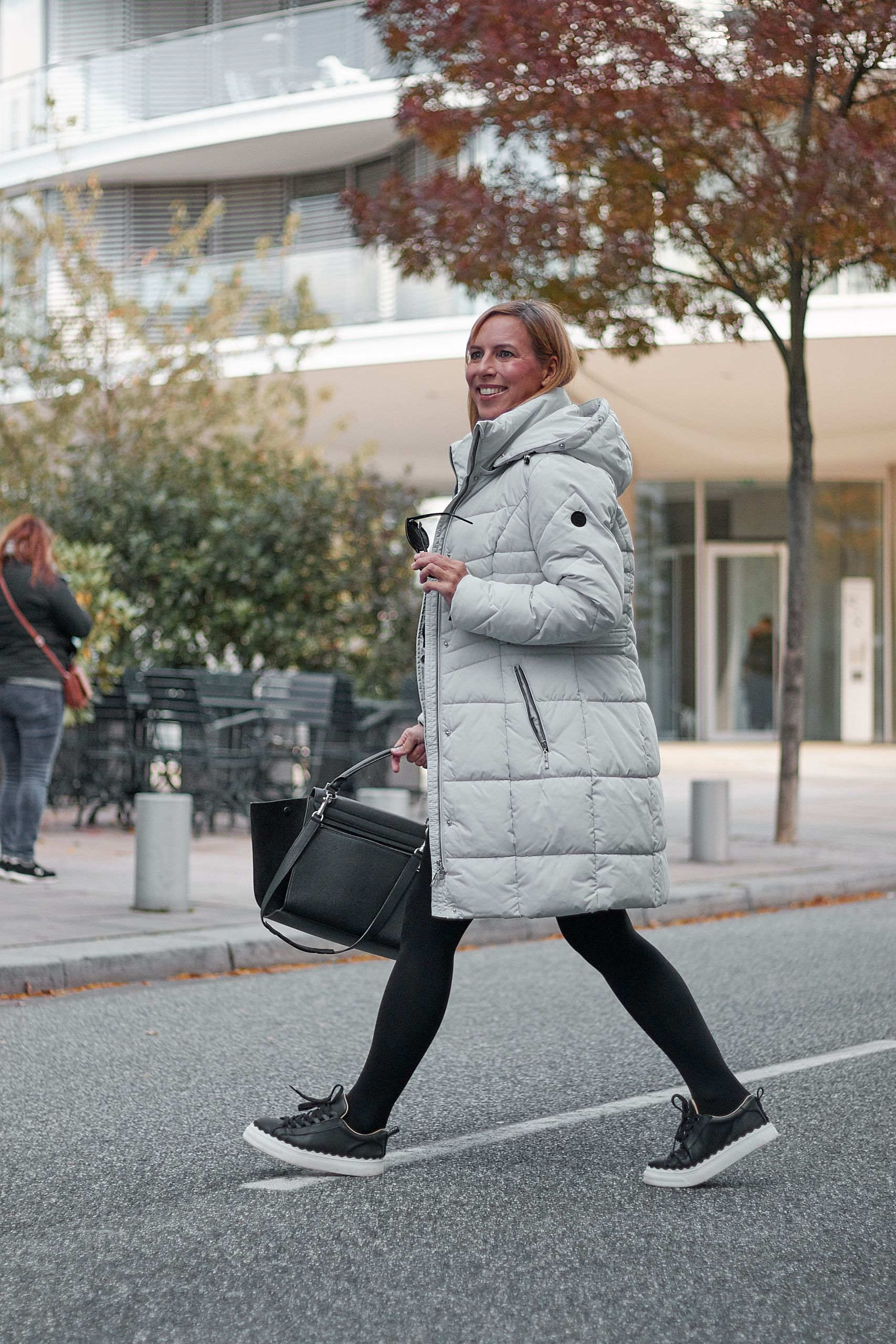 Steppjacke aus den Liberty Woman Neuheiten in der Hafencity