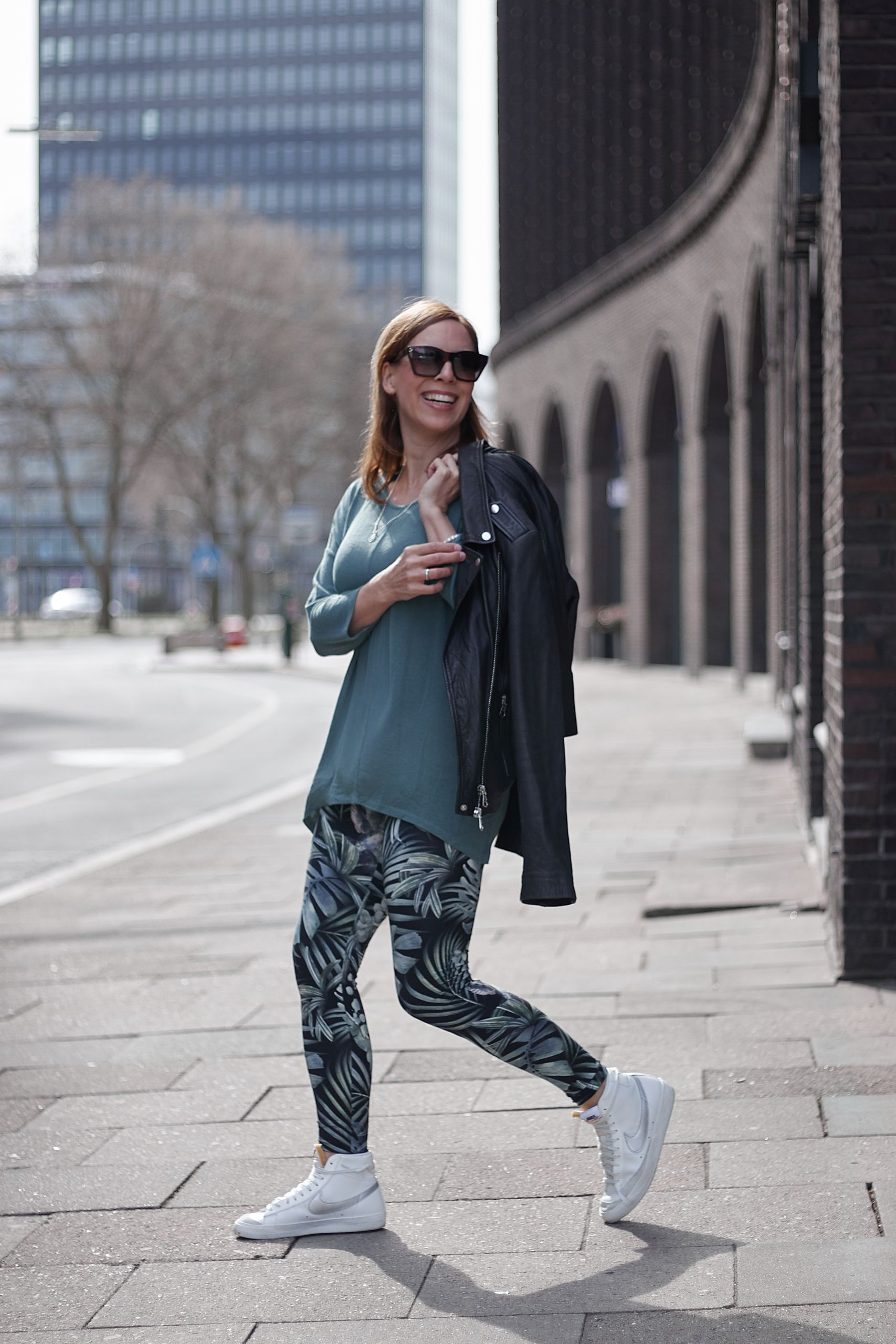 Betty Barclay Activewear Leggings und Pullover