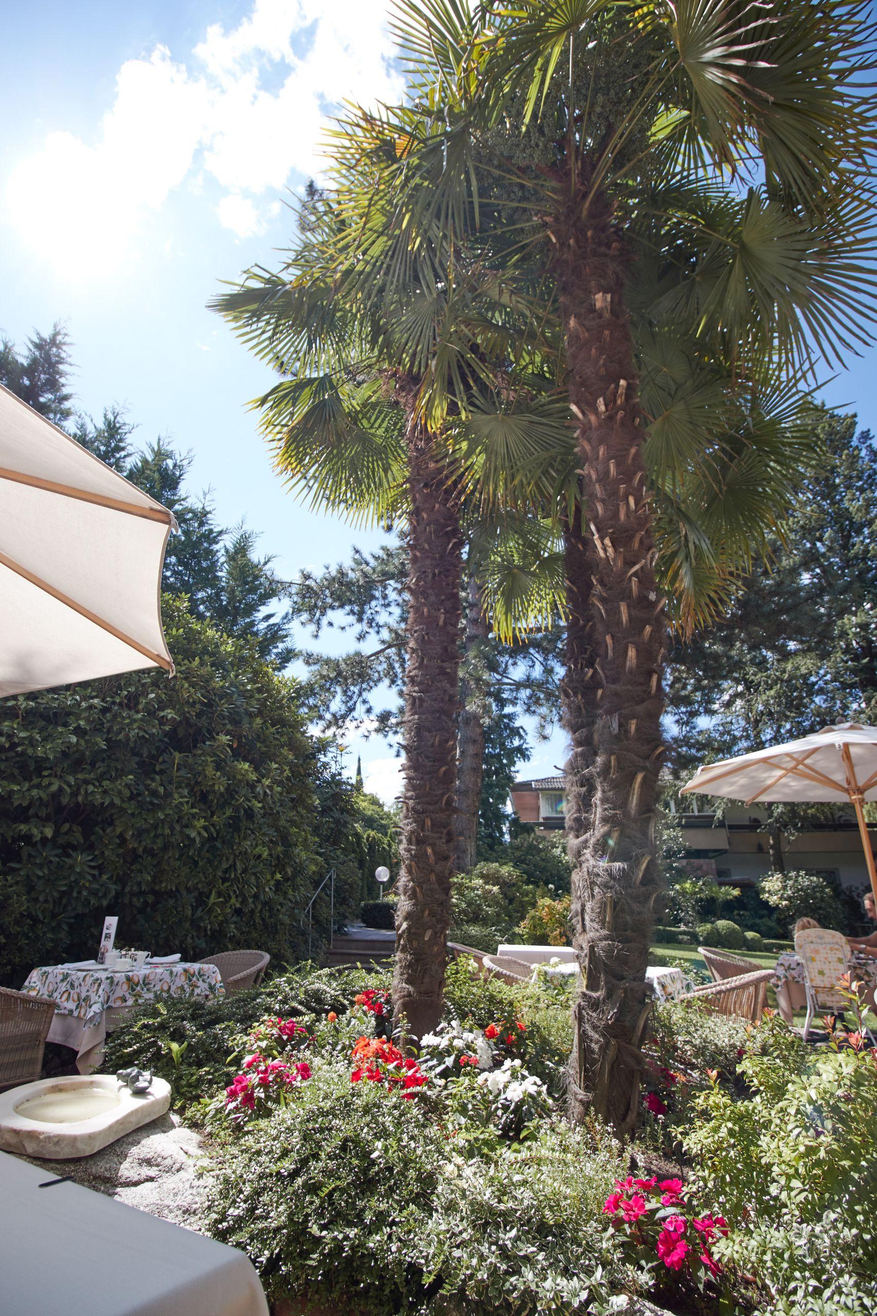 Garten des Parkhotel Mignon Meran