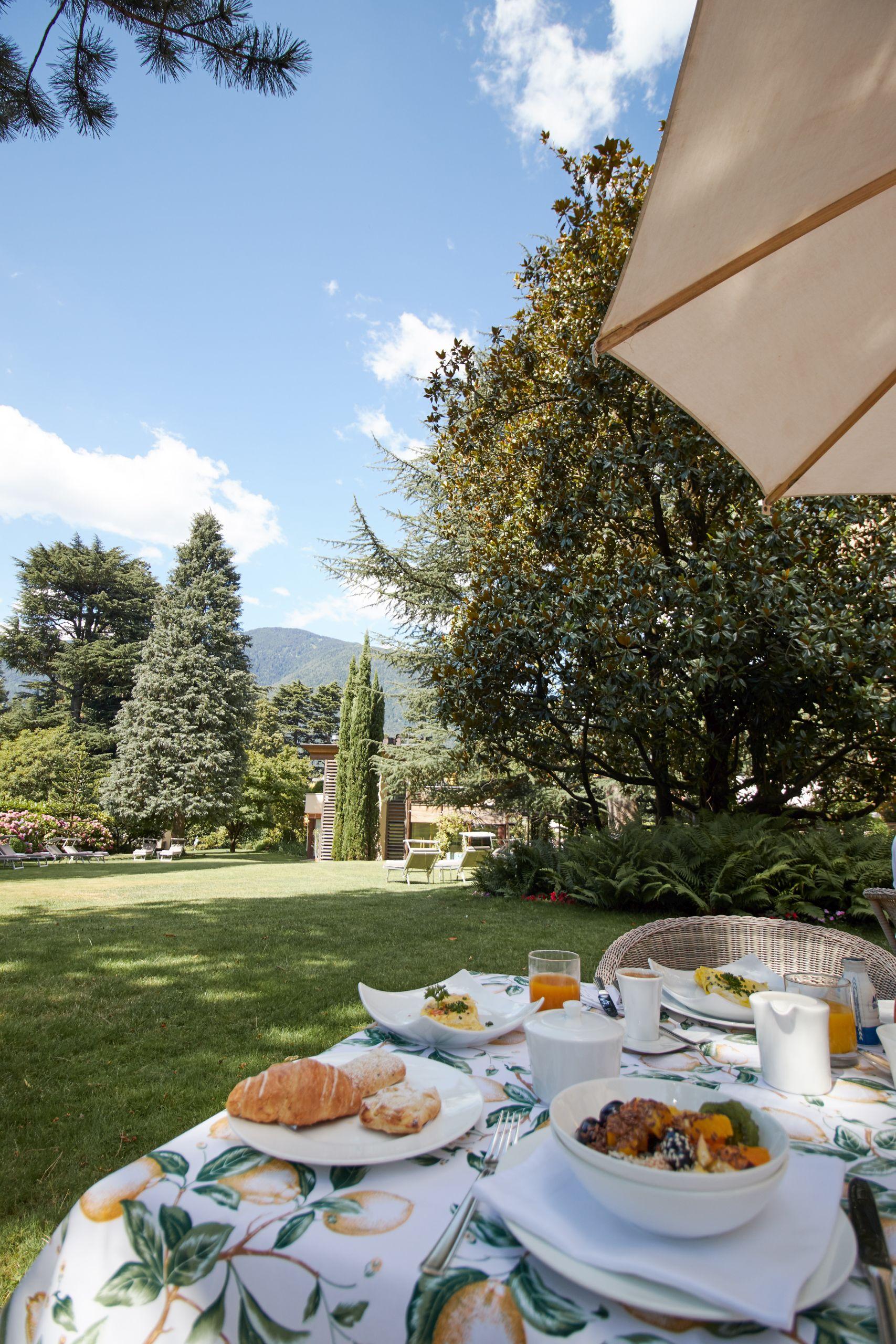 Frühstück im Parkhotel Mignon Meran