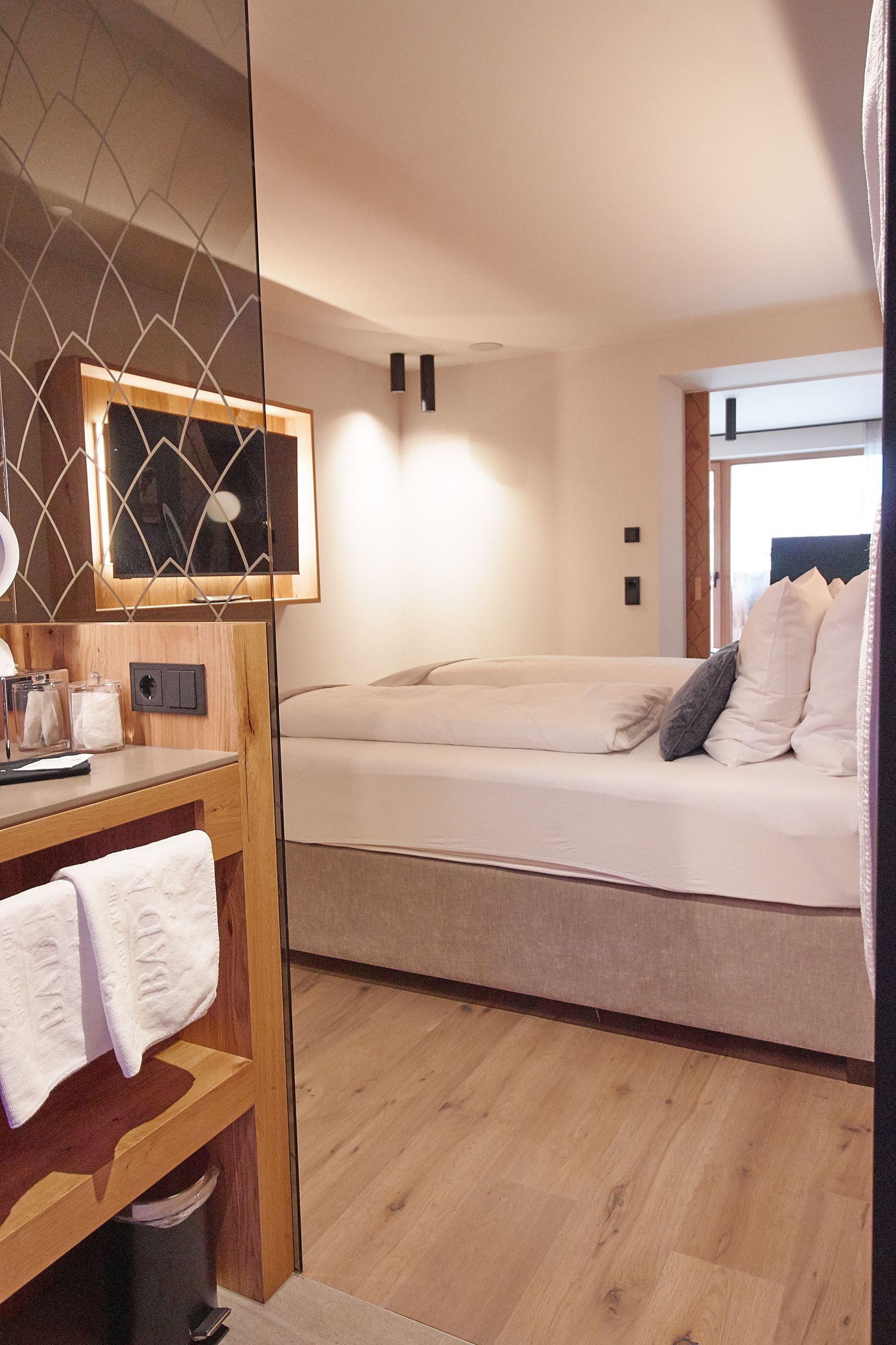 Zimmer vom Bad Moos Dolomites Spa Resort in Sexten